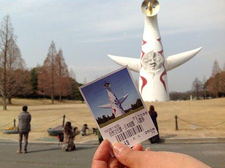 Osaka, Osaka Expo, Expo Hall, Tower Of The Sun, Top