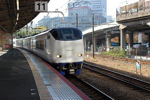 Jr West, Shin-osaka, Haruka, 281 System, Train, Express