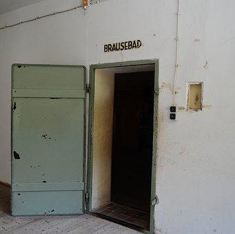 Konzentrationslager, Dachau, Brausebad, Gas Chamber