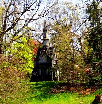 Cemetery, Graveyard, Grave, Halloween, Scary, Death