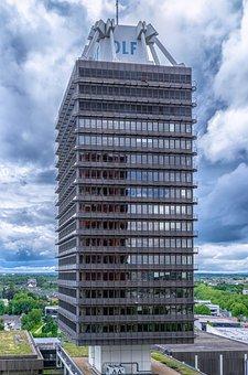 Skyscraper, Home, Facade, Building, Architecture