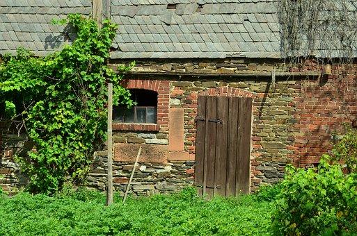 Farmhouse, Farm, Barn, Building, Old Farmhouse, House