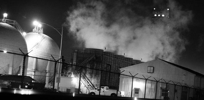 Factory, Eerie, Industrial, Building, Engineering