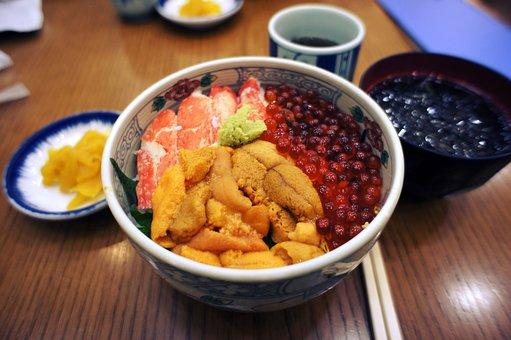 Seafood Rice, Kai-sen-dong, Food
