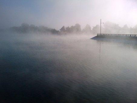 Fog, Foggy, Mist, Landscape, Misty, Dark, Weather