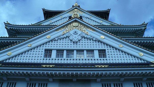 Osaka, Japan, Osaka Castle, Castle, Travel, Japanese
