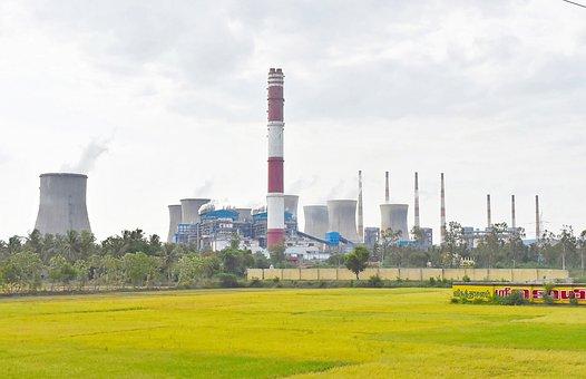Power Plant, Thermal, Tower, Coal, Smoke, Energy