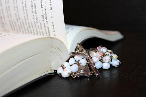 Rosary, Prayer Book, Hymnal, Religion, Prayer, Faith