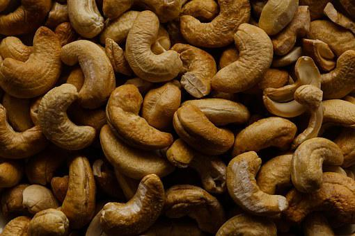 Cashew Nuts, Nuts, Food, Snack, Roasted, Cashews