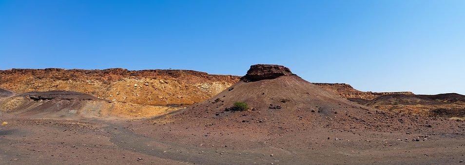 Africa, Namibia, Heiss, Nature, Karg, Stones, Mountain