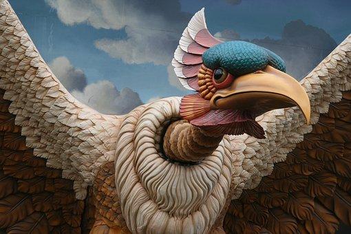 Bird, Image, Theme, Fantasy