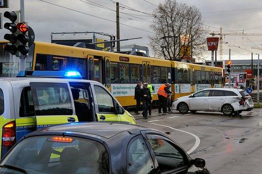 Accident, Light Rail, Police, Collision, Tram