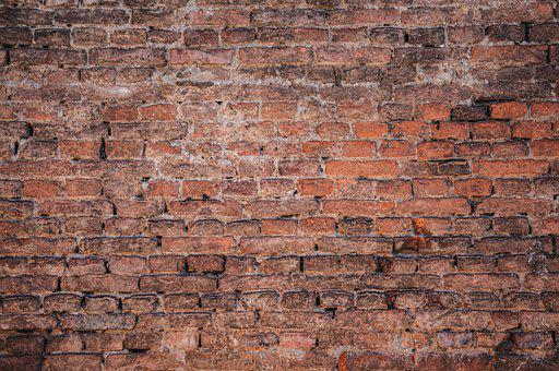 Brick, Wall, Texture, Pattern, Building, Red, White