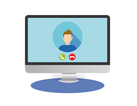Video Conference, Video Call, Call, Skype, Online