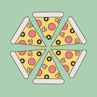 Pizza, Pizza Slice, Food, Italian, Slice