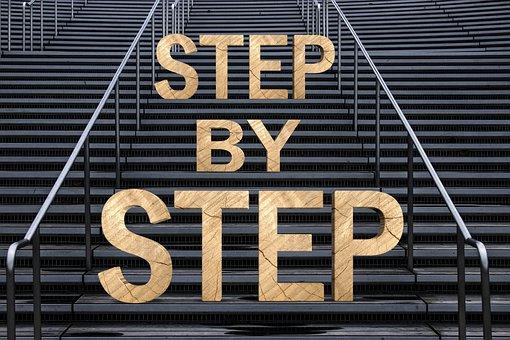 Stairs, Gradually, Success, Gradual, Career, Up, Rise