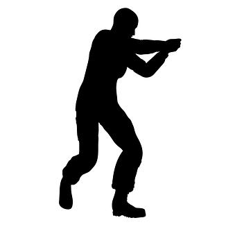 Pointing, Gun, Weapon, Handgun, Pistol, Crime, Attack