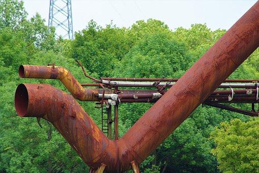 Rust, Industry, Metal, Steel, Texture, Factory