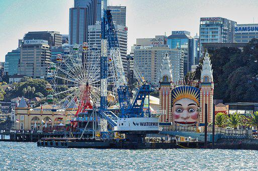 Sydney, Carnival, Park, Entertainment, Amusement, Fun