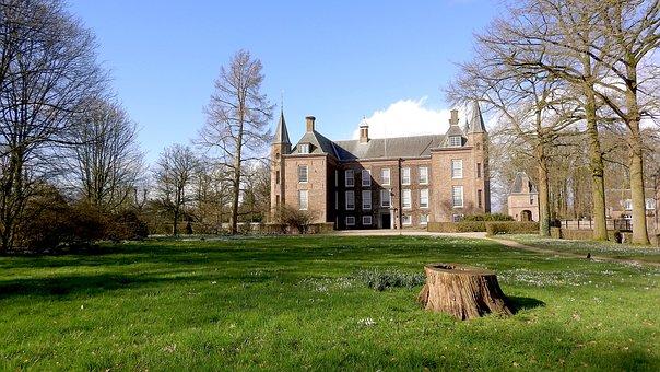 Palace, Seat, Castle, Zuylen