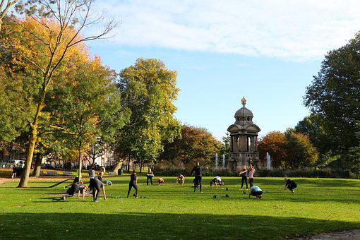 Amsterdam, Non-smoking, Park, Netherlands, Sports