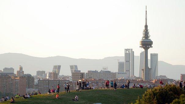 Madrid, Tio Pio, Hill, Vallecas, Views, City, Filming