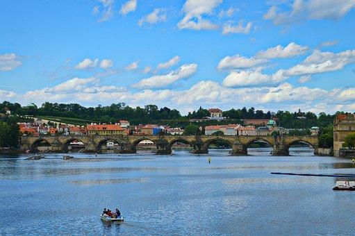 River, Vltava River, Vltava, Prague