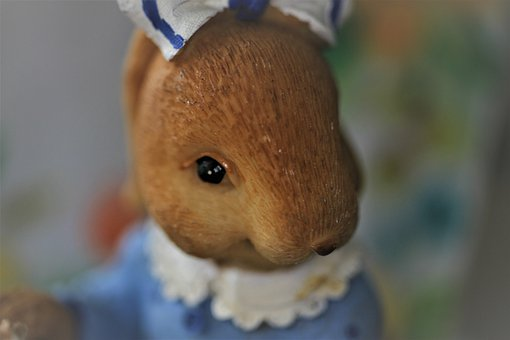 Hare, Figure, Easter, Decoration