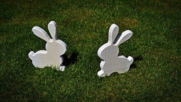 Hare, Deco, Easter, Spring, Decoration