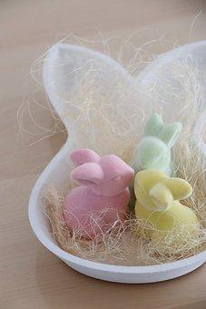 Easter, Easter Bunny, Rabbit, Easter Decor, Easter Nest