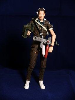 Amanda, Ripley, Action, Figure, Fictional, Character