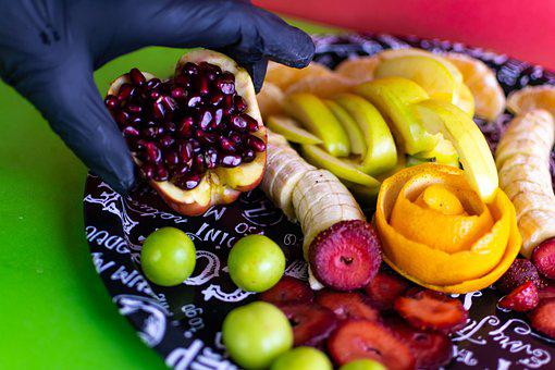 Pomegranate, Fruit Salad, Health, витамины, Nutrition