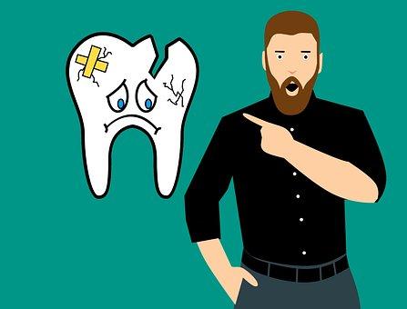 Broken Tooth, Tooth, Teeth, Dentist, Medicine