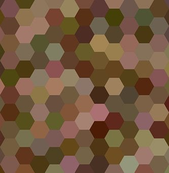 Brown, Background, Layout, Polygon, Honey, Hex