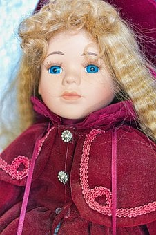 Doll, Toy, Collection, Porcelain, Dolls