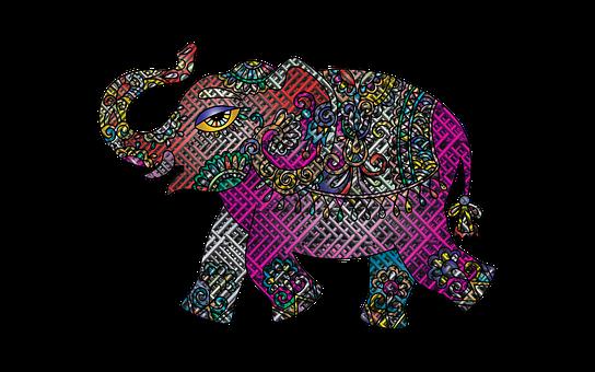 Elephant, Animal, Nature, Wildlife, Mesh