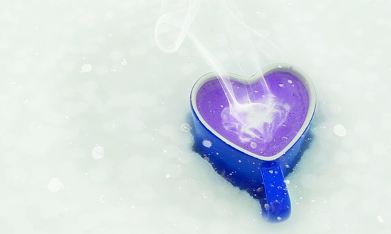 Valentines Day, Mothers Day, Heart, Hot Drink, Winter