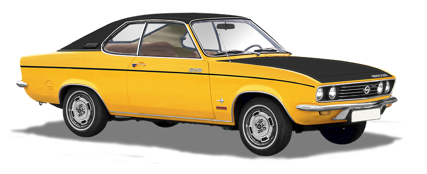 Opel, Manta - A, Type-gte 1900, 70s, Isolated