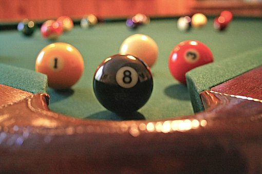 Eight Ball, 8 Ball, Eight, Pool, 8, Ball, Snooker