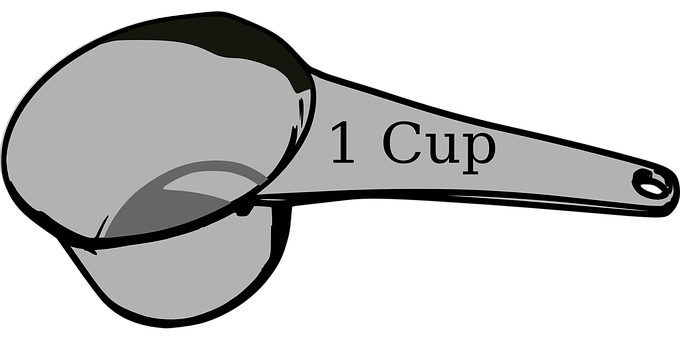 Cooking, Baking, Measuring, Cup, Spoon