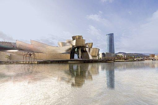 Museum, Guggenheim, Bilbao, Architecture, Spain