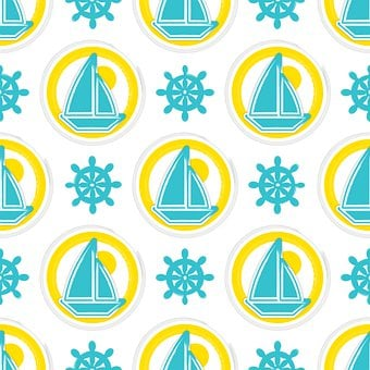 Seamless Pattern Repeat, Disc-shaped