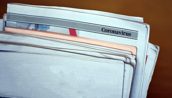 Dutch Newspaper, Corona, News About Virus, Dutch Media