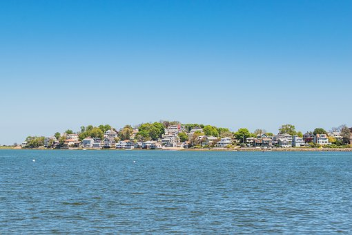 New, England, House, Beach, Beautiful, Beauty, Blue