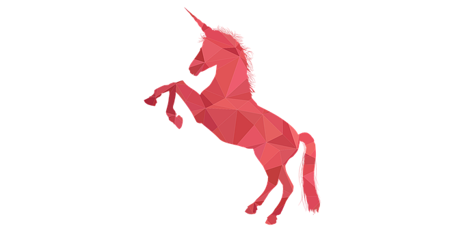 Unicorn, Orange, Pink, Horse, Flower, Florist, Narwhal