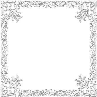 Frame Border, Frame Border Illustration
