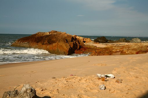 Plastic, Ocean, Pollution, Garbage, Beach, Tropics