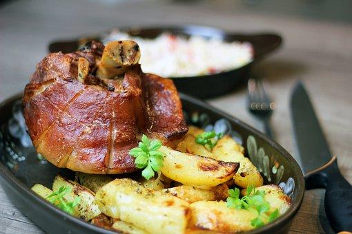Ham Baker Mode, Knuckle, Meat, Kitchen, Pork, Nutrition