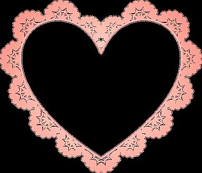 Frame, Heart, Border, Decoration, Decor, Decorative