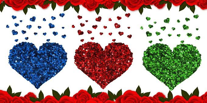 Heart Love, Heart Love Illustration, Heart Love Drawing